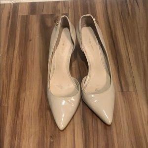 Calvin Klein nude pumps size 6
